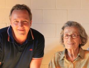 Foto mit Phyllis am 06.09.2014